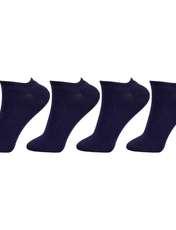 جوراب زنانه مستر جوراب کد BL-MRM 213 بسته 4 عددی -  - 1