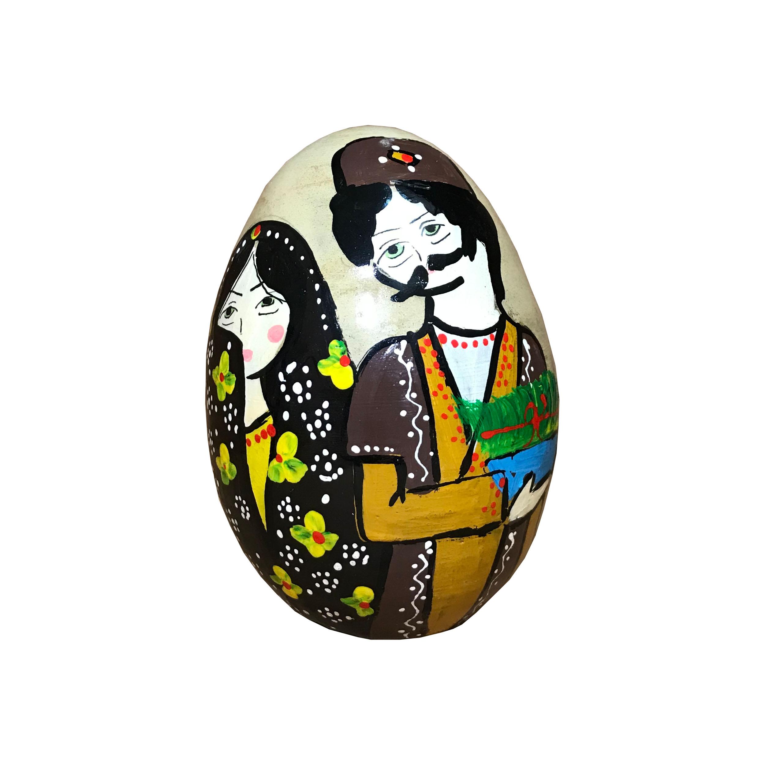 تخم مرغ تزیینی مدل نوروز کد N03