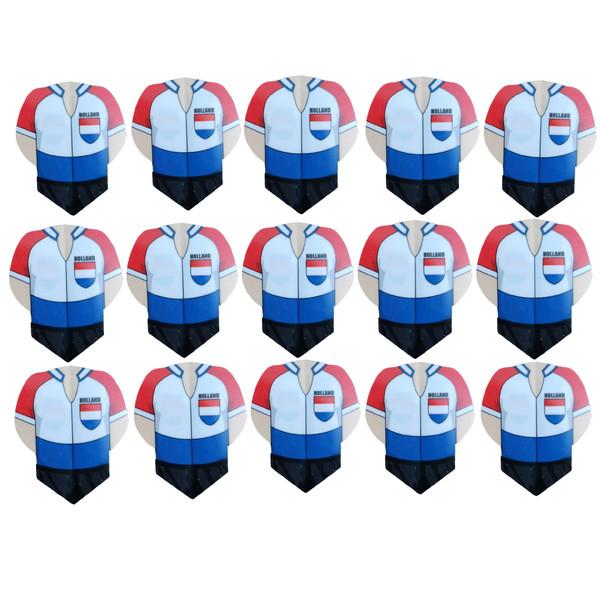 پر یدک دارت طرح لباس تیم هلند کد 01 بسته 15 عددی