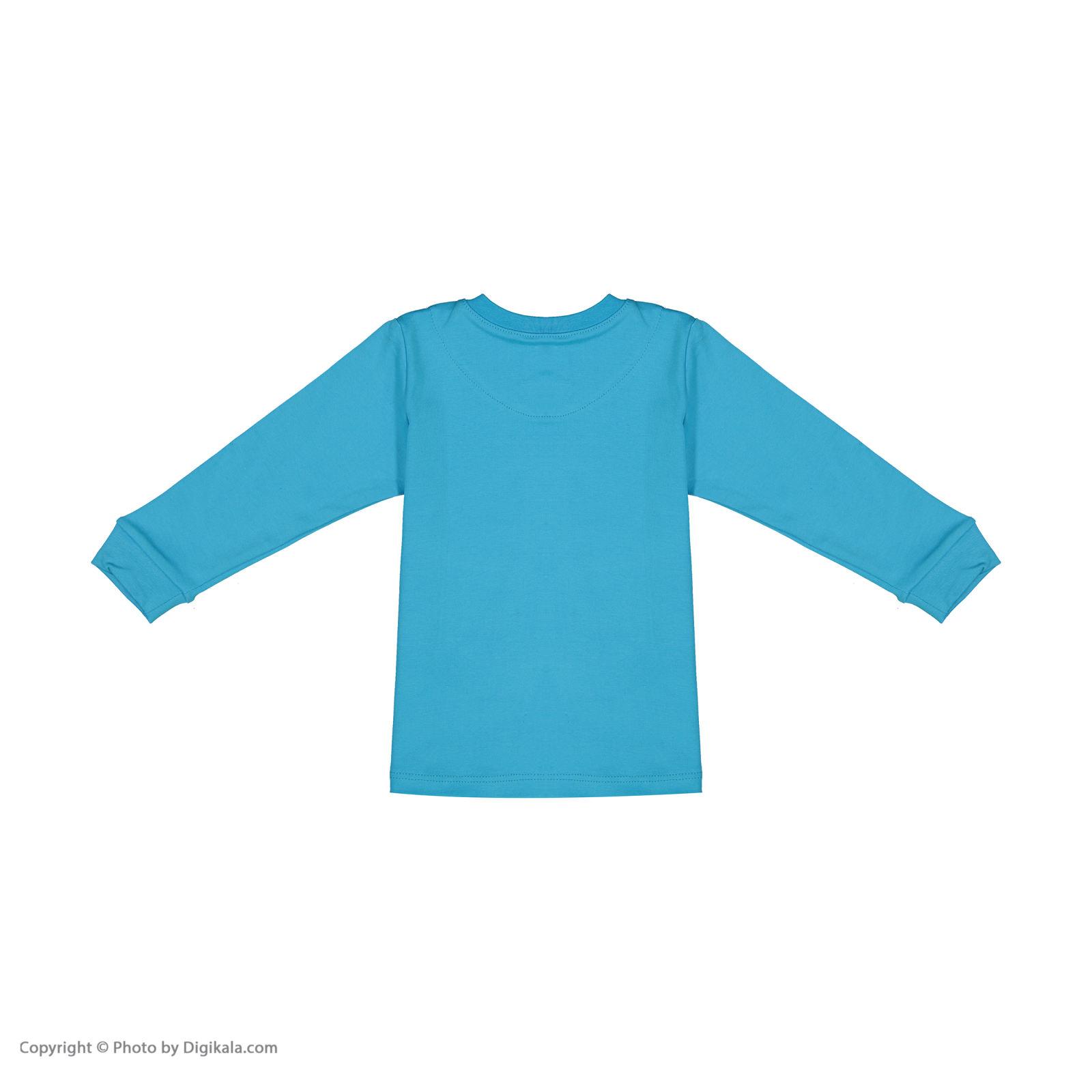 ست تی شرت و شلوار پسرانه مادر مدل 318-53 main 1 3