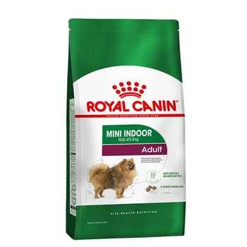 غذای خشک سگ رویال کنین مدل Mini Indoor Adult وزن 1.5 کیلوگرم