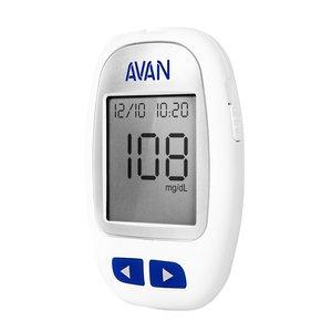 دستگاه تست قند خون آوان مدل AGM01 به همراه 25 عدد نوار تست قند خون