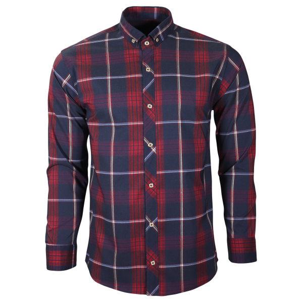 پیراهن آستین بلند مردانه مدل nch10040
