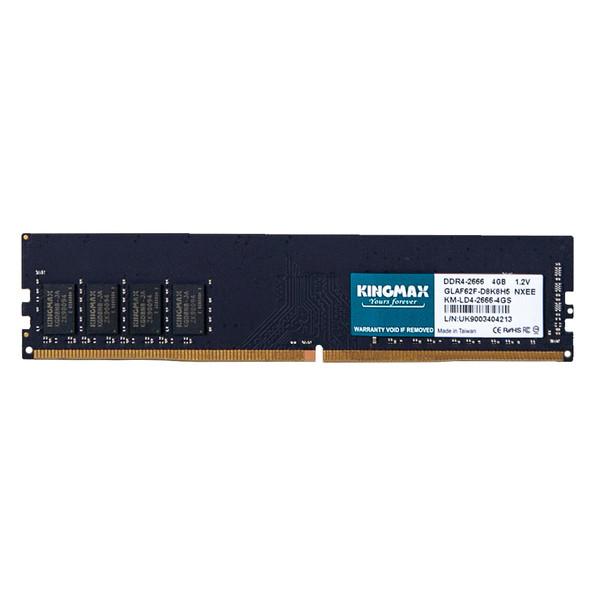 رم دسکتاپ DDR4 تک کاناله 2666 مگاهرتز CL16 کینگ مکس مدل GLAF62F-D8K8H5 ظرفیت 4 گیگابایت