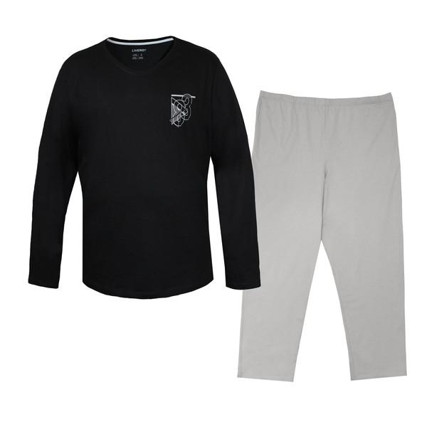 ست تی شرت و شلوار مردانه لیورجی مدل ne10