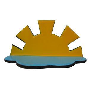 طبقه جا کبریتی طرح خورشید و ابر مدل AW19