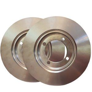 دیسک ترمز چرخ جلو کد 4001 مناسب برای پراید بسته دو عددی