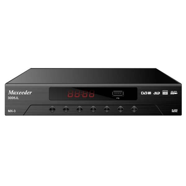 گیرنده دیجیتال DVB-T مکسیدر مدل MX-3 3006JL