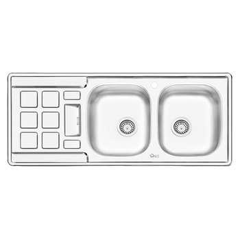 سینک ظرفشویی ایلیا استیل مدل 4021 توکار