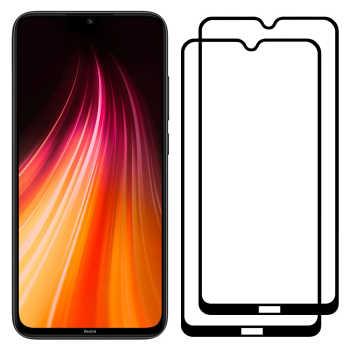 محافظ صفحه نمایش مدل FCG مناسب برای گوشی موبایل شیائومی Redmi Note 8 بسته دو عددی