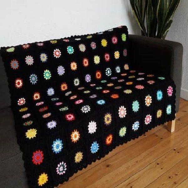 شال مبل و تخت مدل T سایز 120×160 سانتیمتر