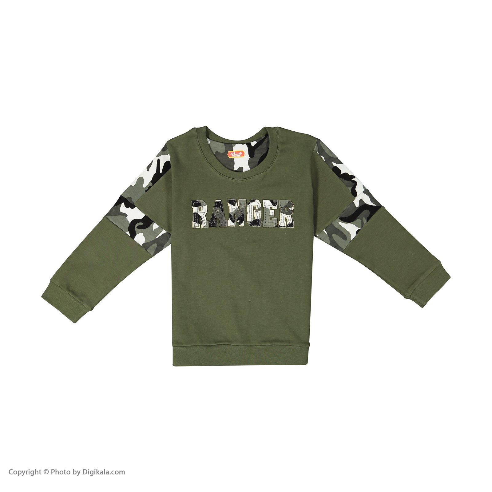 ست تی شرت و شلوار دخترانه مادر مدل 311-49 main 1 2