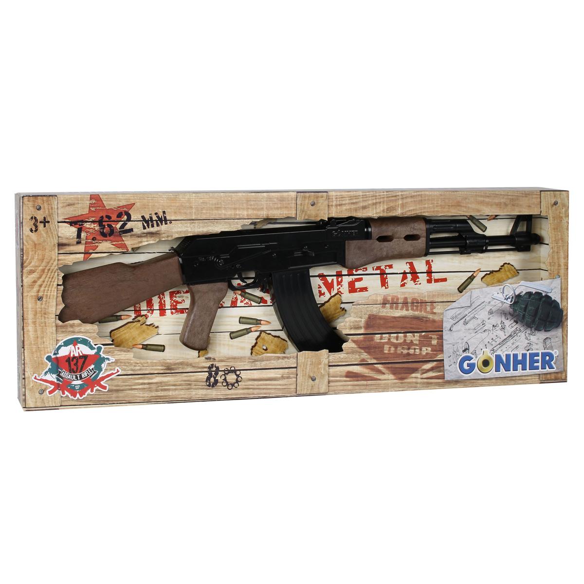 تفنگ بازی گانهر طرح کلاشنیکف کد 137