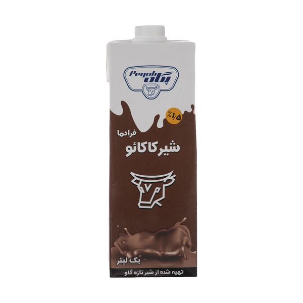 شیر کاکائو فرادما پگاه مقدار 1 لیتر
