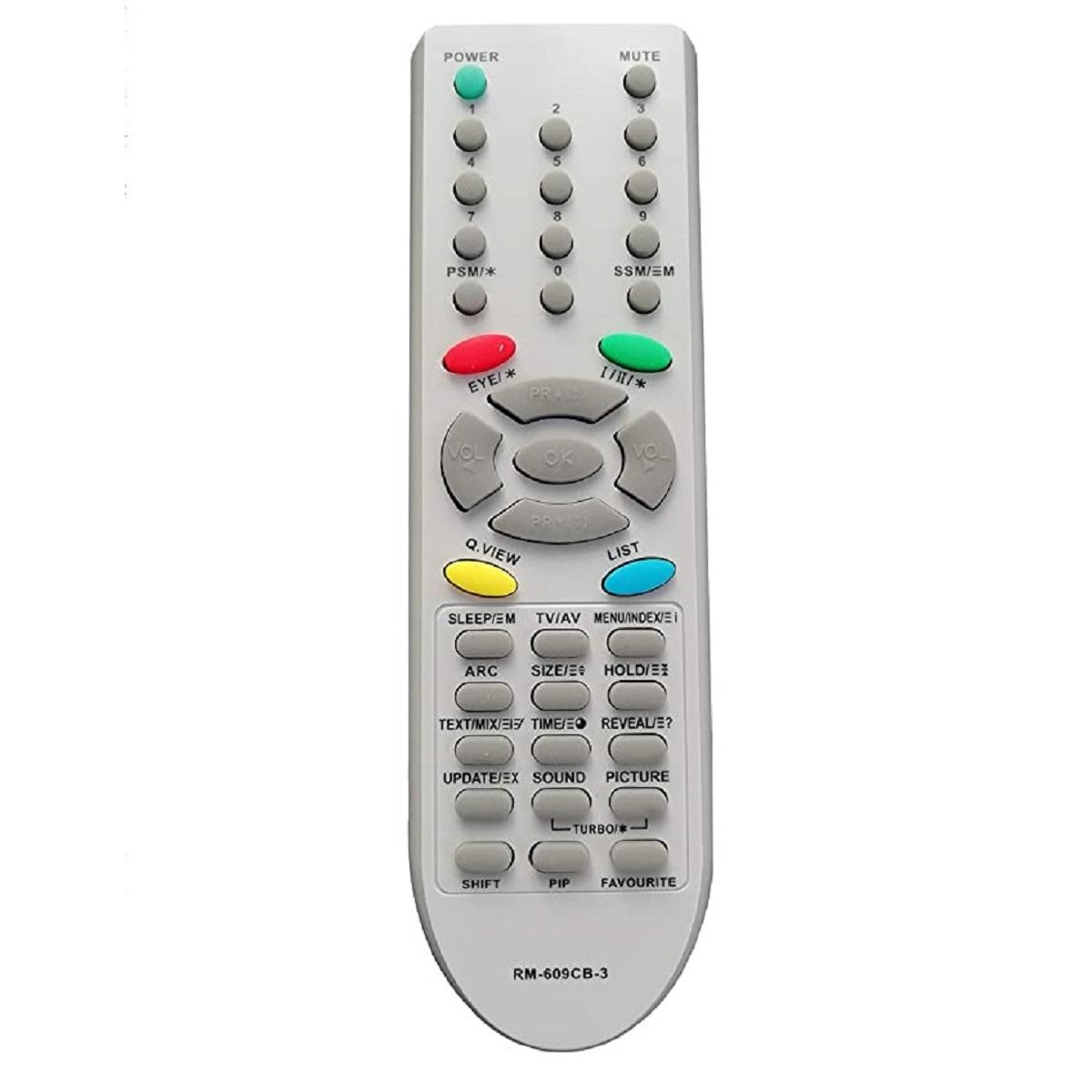 ریموت کنترل مدل RM-609CB
