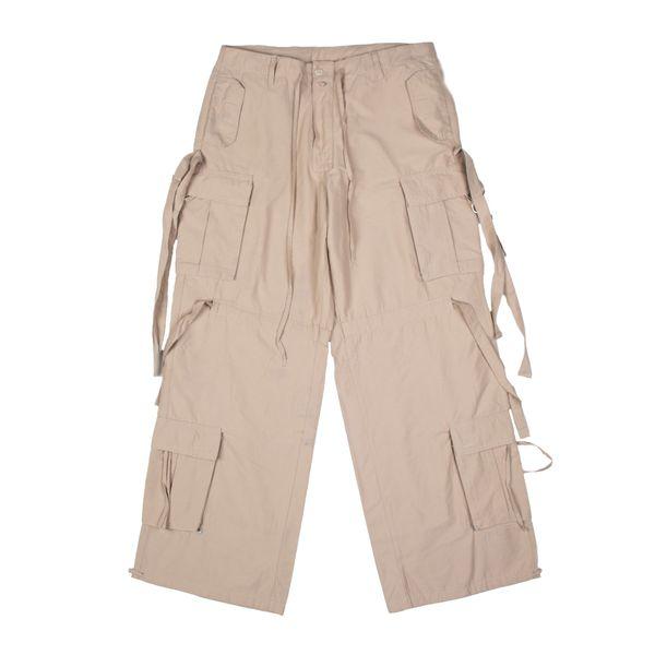 شلوار کوهنوردی مردانه مدل هشت جیب بند دار کد 01