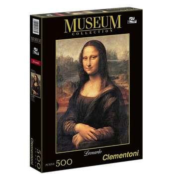 پازل 500 تکه کلمنتونی مدل Mona Lisa کد 30363
