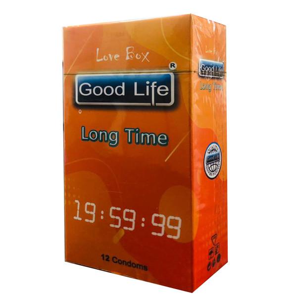 کاندوم گودلایف مدل LONG TIME کد GO04 بسته 12 عددی