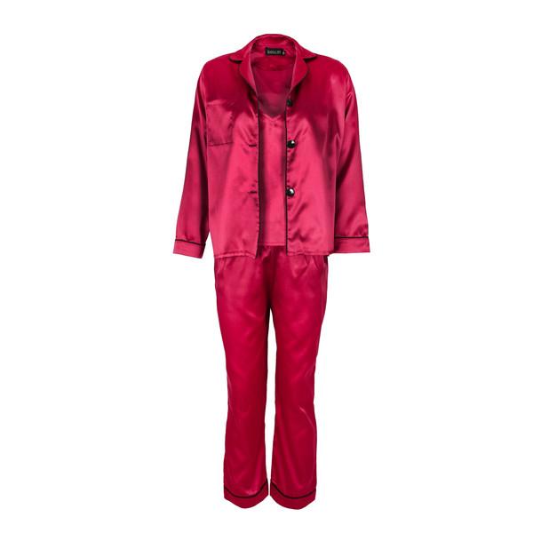 لباس خواب  زنانه ناوالس کد SS2020-PJM105-Dpk