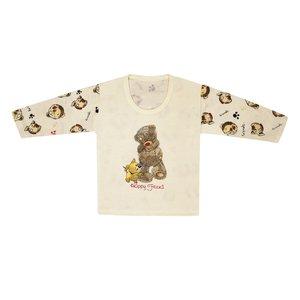 تی شرت آستین بلند نوزادی مدل 988581CR