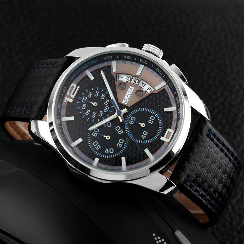 ساعت مچی عقربه ای مردانه اسکمی مدل 9106A-NP -  - 4