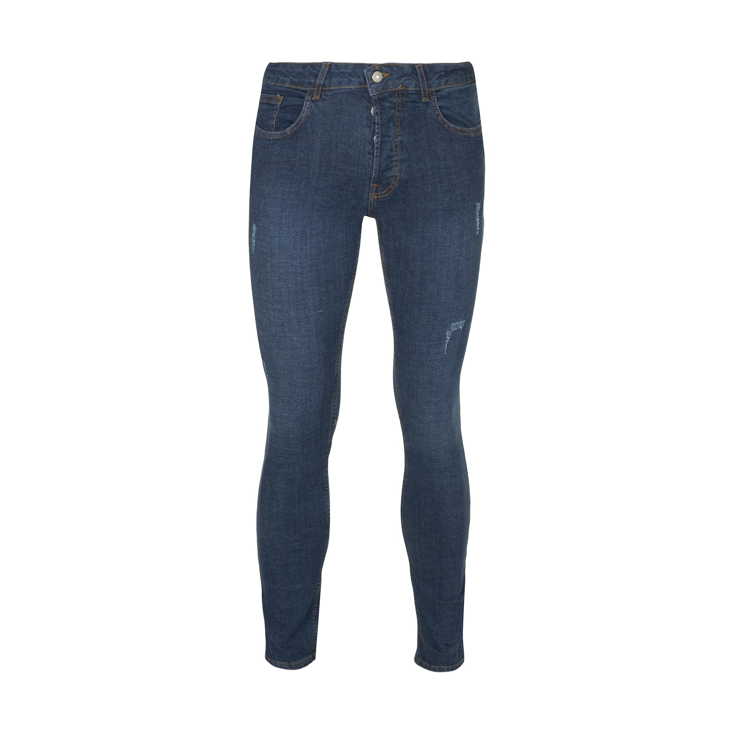 شلوار جین مردانه آر اِن اِس مدل 133051-77