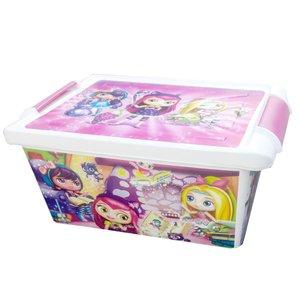 جعبه اسباب بازی کودک طرح دختران افسونگر کد SM55
