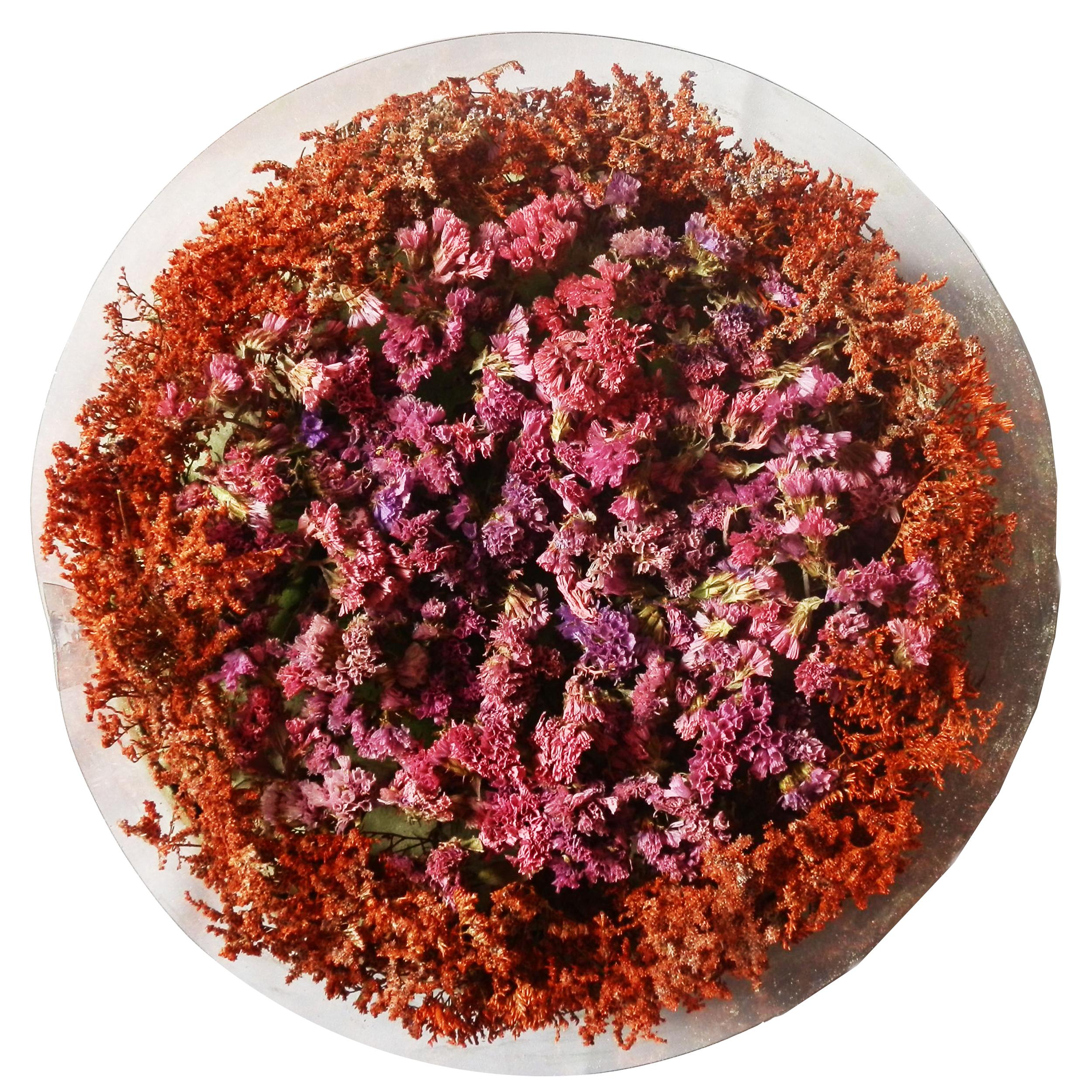 باکس گل خشک مدل گل تولد کد 2