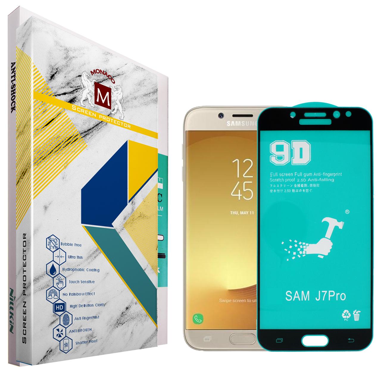 محافظ صفحه نمایش سرامیکی موناکو مدل CR028 مناسب برای گوشی موبایل سامسونگ Galaxy J7 Pro