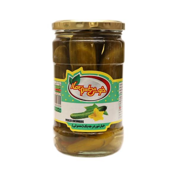 خیارشور درجه یک خوش طعم بهار - 680 گرم