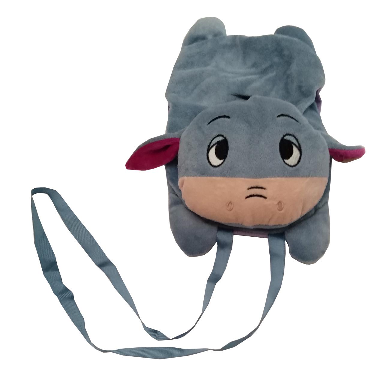 کیف گردنی بچگانه مدل الاغ مهربون
