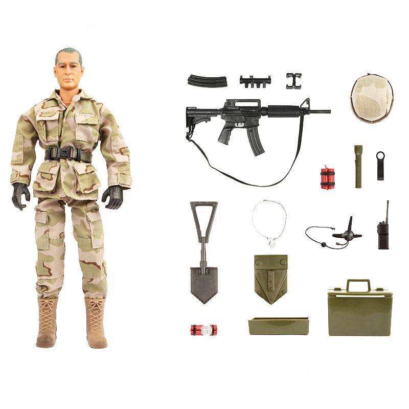 اسباب بازی جنگی مدل F.O.D  کد 90200  مجموعه  12 عددی