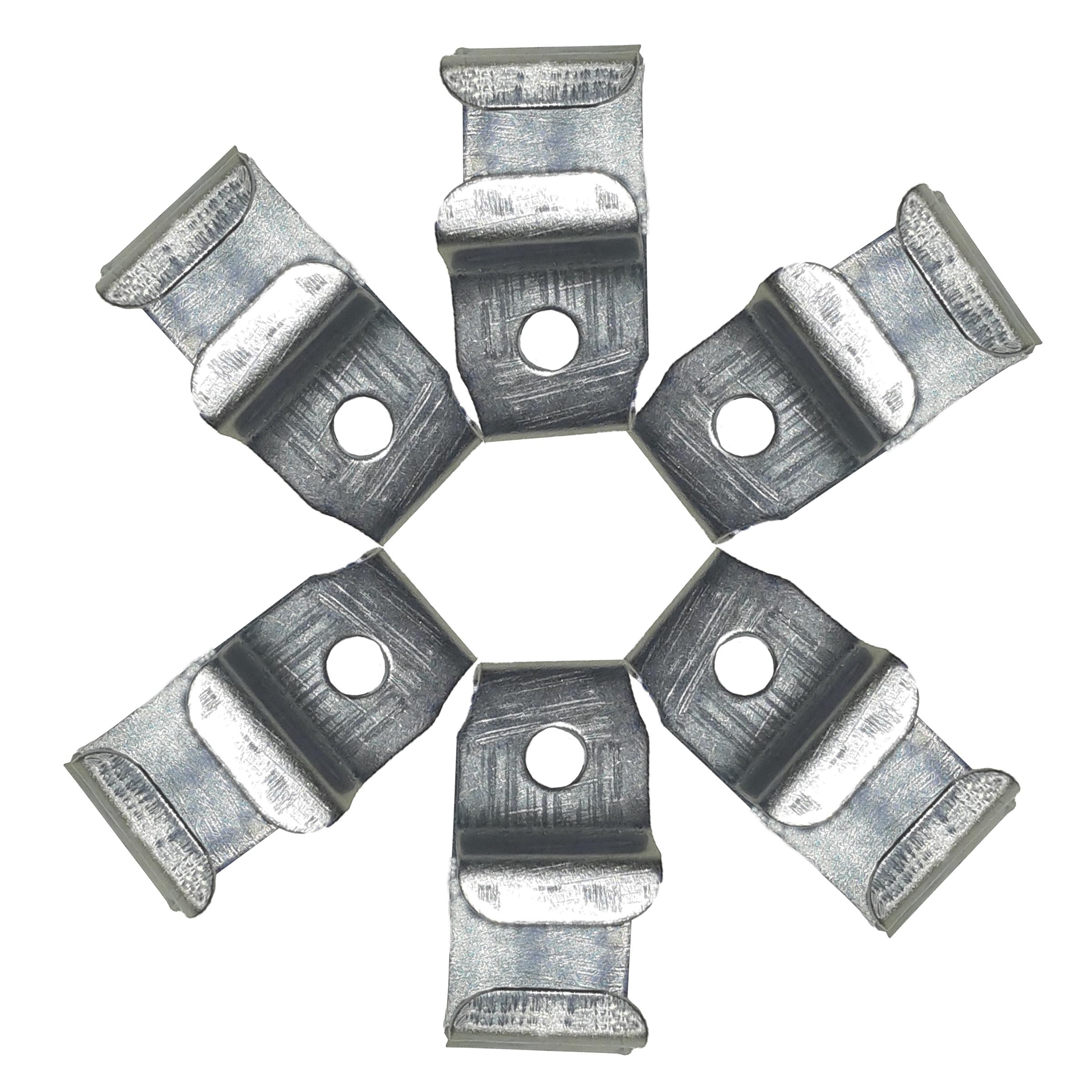 بست پرده سقفی باربد مدل SS6 بسته ۶ عددی
