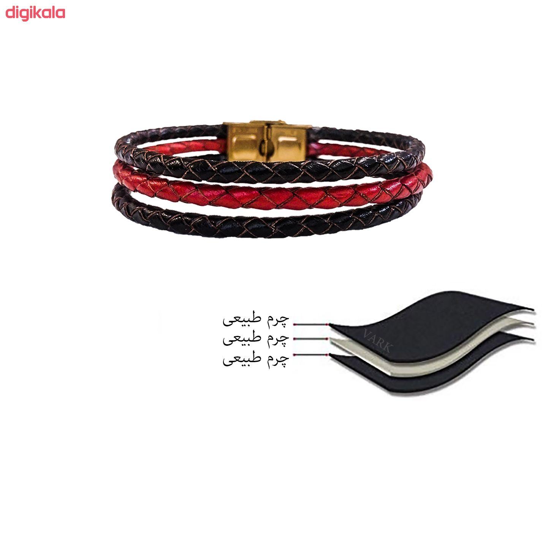 دستبند چرم وارک مدل دایان کد rb346 main 1 7