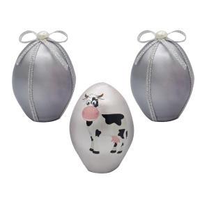 تخم مرغ تزیینی مدل گاو کد mg144 مجموعه 3 عددی