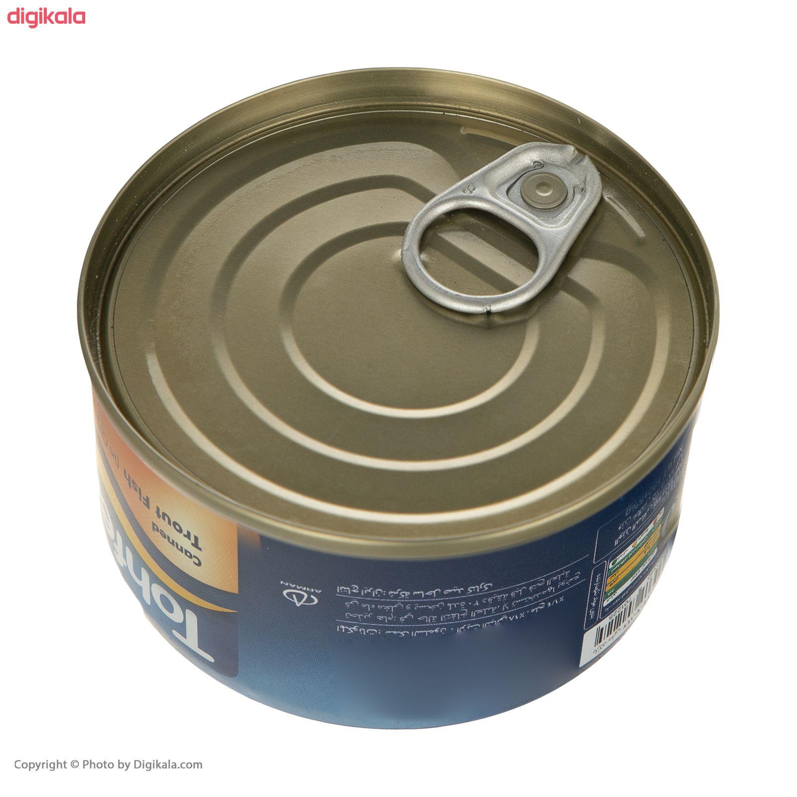 کنسرو ماهی قزل آلا در روغن تحفه - 180 گرم main 1 3