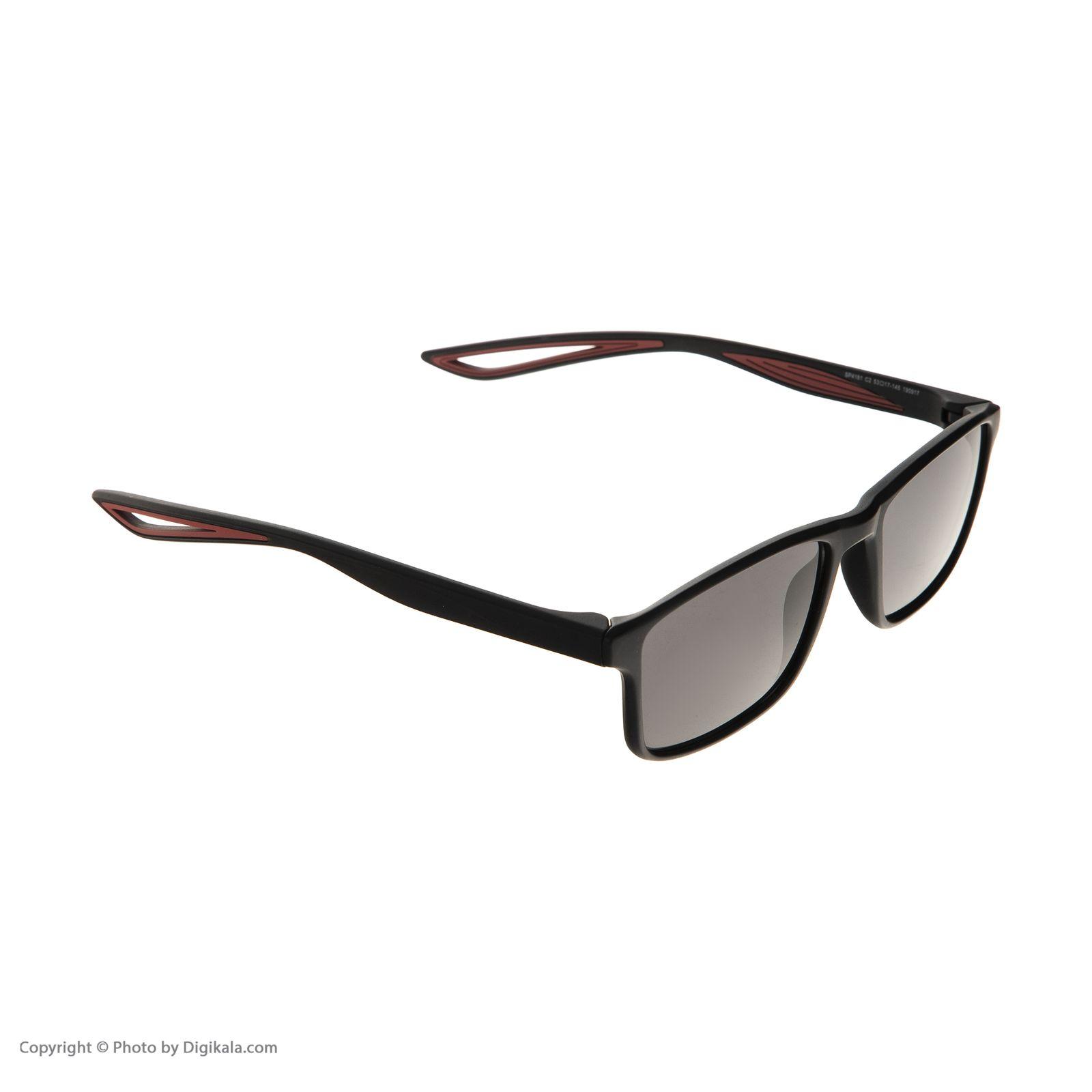 عینک آفتابی مردانه اوکیالی مدل sp4181C2 -  - 3