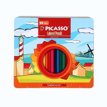 مداد رنگی 24 رنگ پیکاسو کد L89