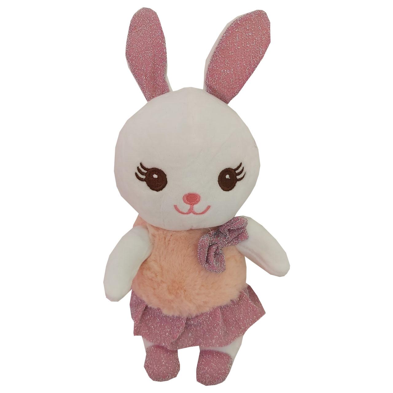 عروسک طرح خرگوش ارتفاع 28 سانتیمتر