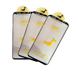 محافظ صفحه نمایش و پشت گوشی مدل ۱۴ مناسب برای گوشی موبایل سامسونگ Galaxy S8 Plusبسته ۳ عددی