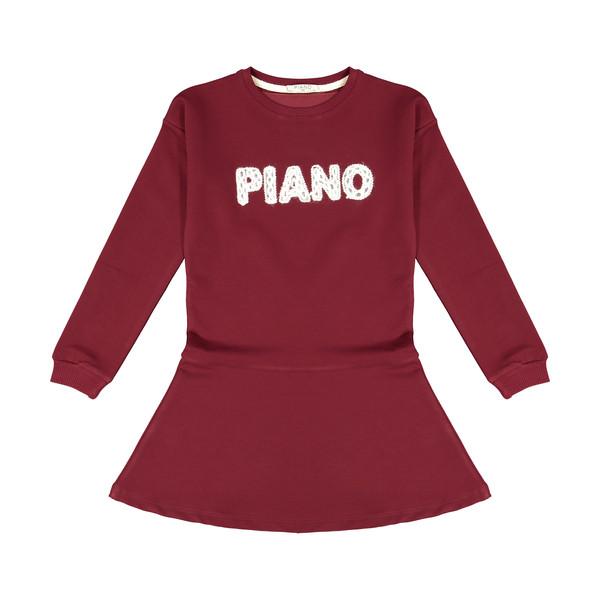 تونیک دخترانه پیانو مدل 1009009801234-70