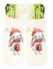 جوراب پسرانه طرح خرگوش کد SCb55 -  - 2