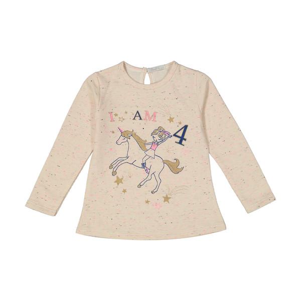 تی شرت دخترانه فیورلا مدل 30552-1