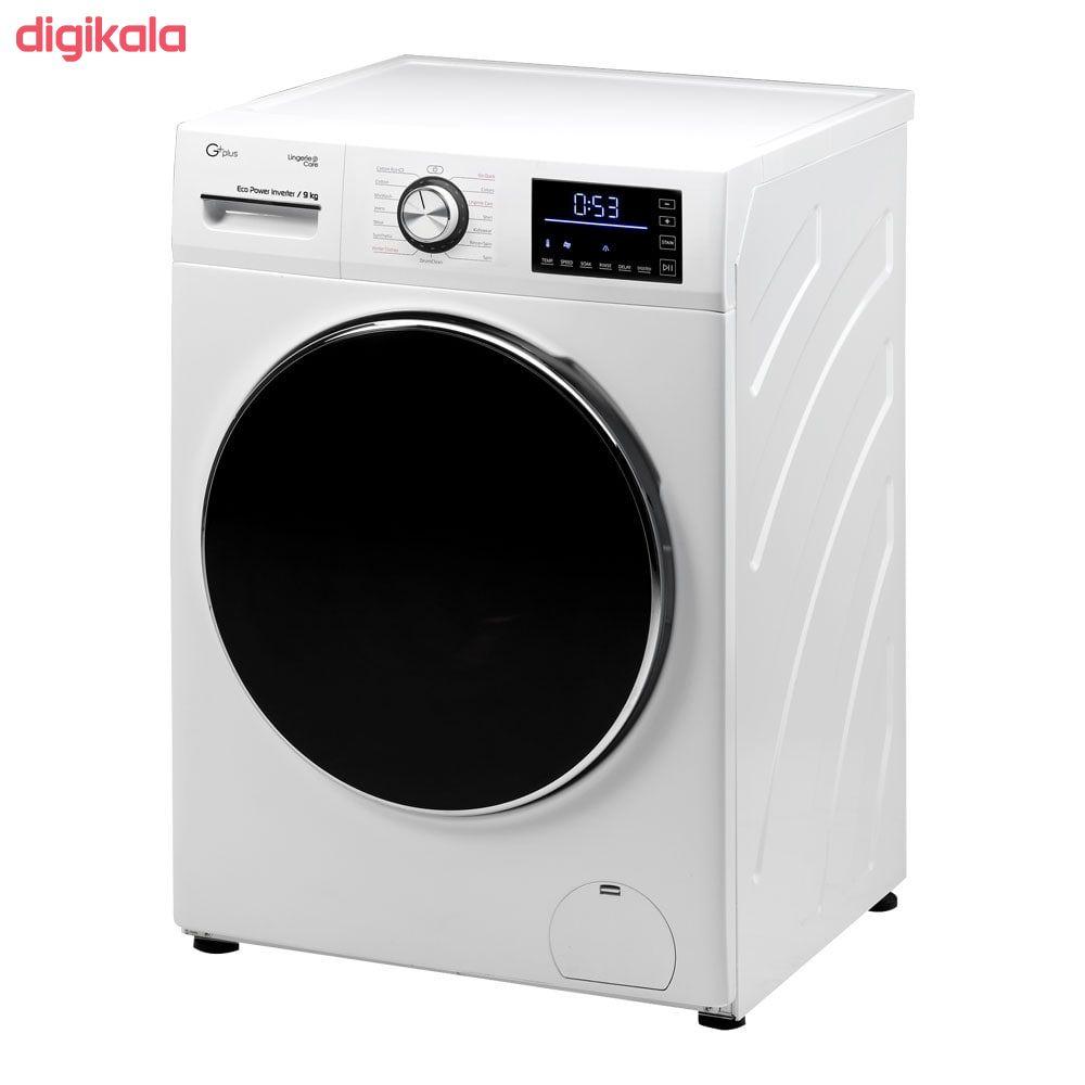 ماشین لباسشویی جی پلاس مدل GWM-K945W ظرفیت 9 کیلوگرم main 1 2