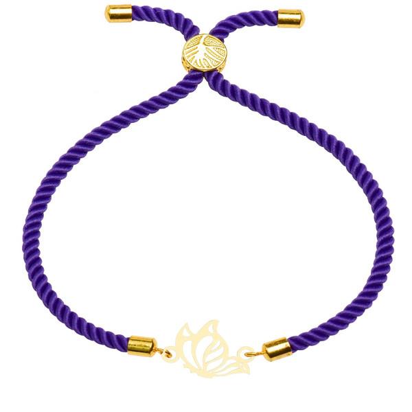 دستبند زنانه کرابو طرح پروانه مدل kb10-51