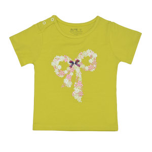 تی شرت دخترانه الیت مدل 3-637