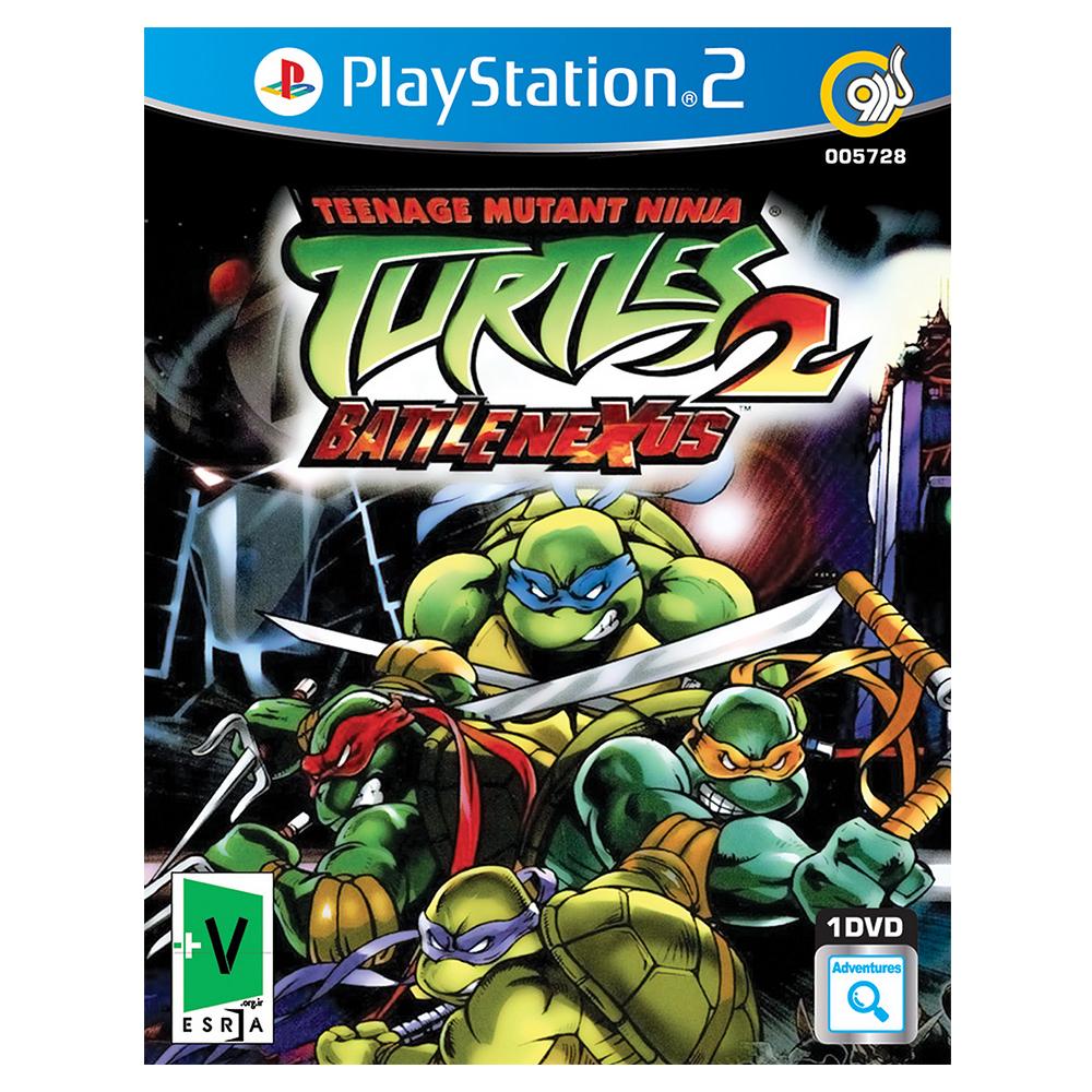 بازی Teenage Mutant Ninja Turtles 2 مخصوص PS2 نشر گردو