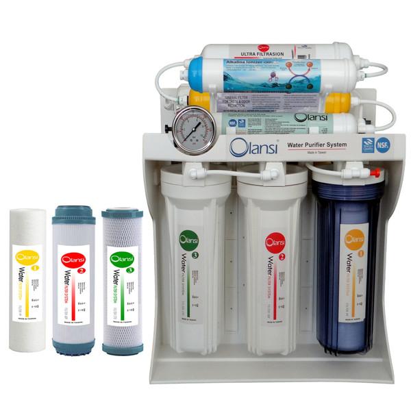 دستگاه تصفیه کننده آب  اولانسی مدل RO - FT2200 به همراه فیلتر مجموعه 3 عددی