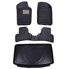 کفپوش سه بعدی خودرو مدل LS مناسب برای 206 هاچ بک به همراه کفپوش صندوق