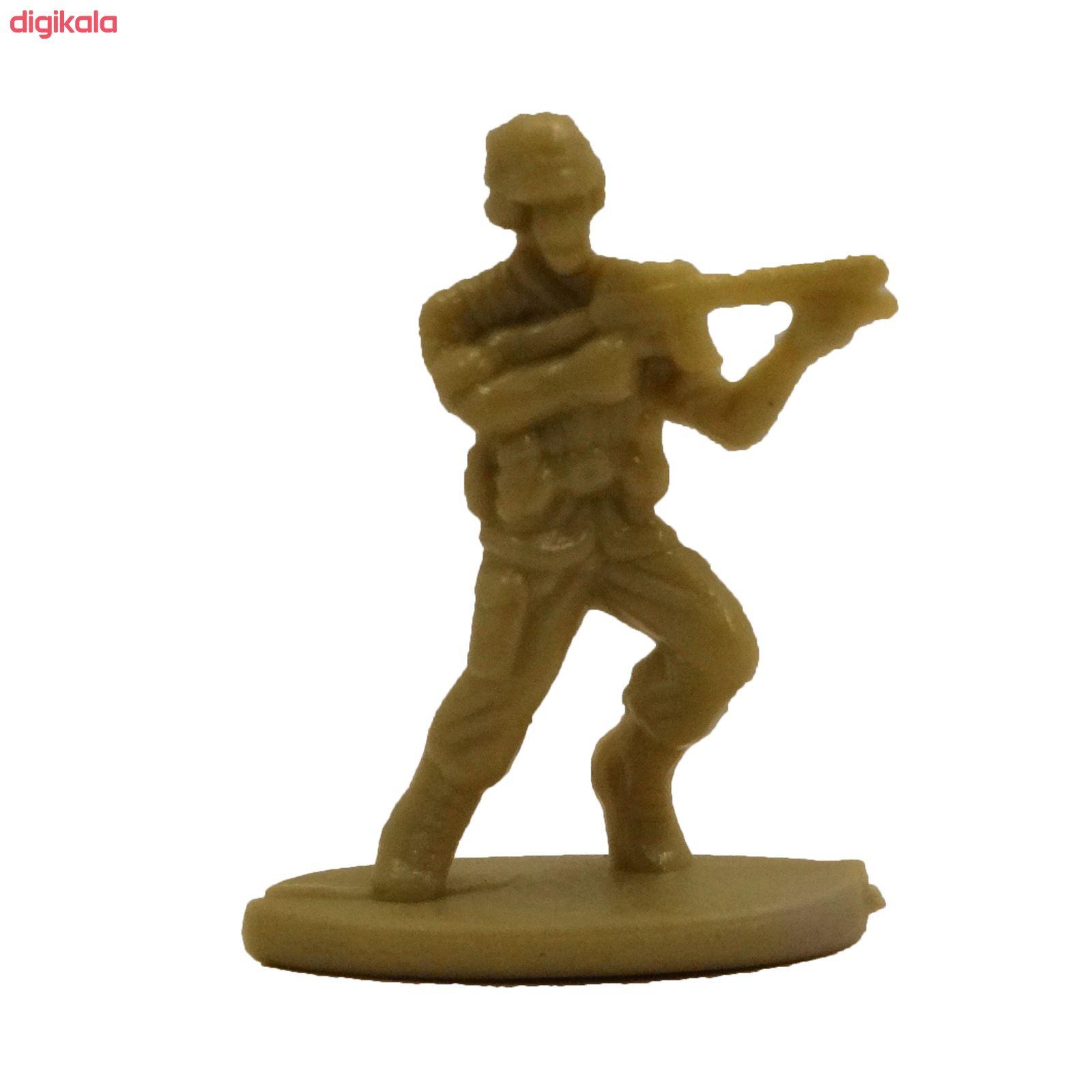 اسباب بازی جنگی مدل پادگان مجموعه 23 عددی main 1 12